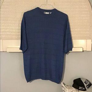 Bachrach Men's 100% Silk Shirt